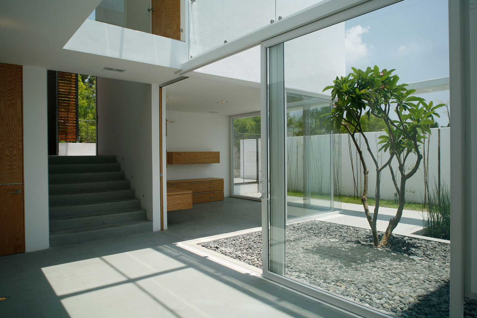 glass house doors
